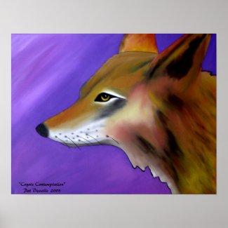 Coyote Print zazzle_print
