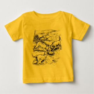 Coyote Pups Baby T-Shirt