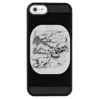 Coyote Pups Clear iPhone SE/5/5s Case