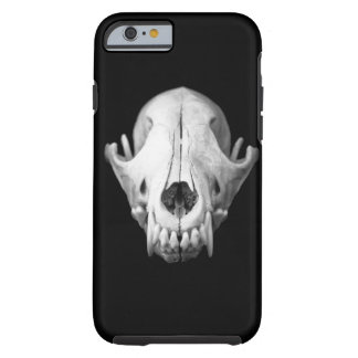 Coyote Skull Black iPhone 6 case