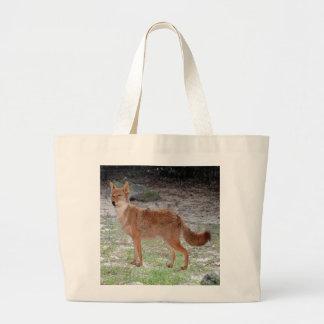Coyote (South Dakota) Large Tote Bag