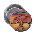 Coyote - Spirit Animal - Totem 2 Inch Round Button