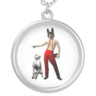 Coyote the Fireman Necklace