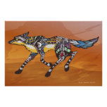 Coyote the Trickster Print