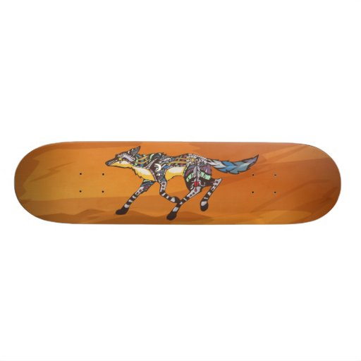 Coyote the Trickster Skateboard