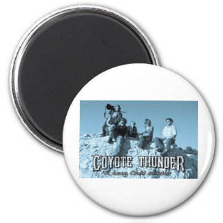 COYOTE THUNDER FAN MERCHANDISE 2 INCH ROUND MAGNET