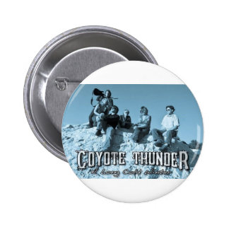 COYOTE THUNDER FAN MERCHANDISE PIN