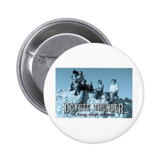 COYOTE THUNDER FAN MERCHANDISE PINBACK BUTTONS