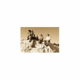 Coyote Thunder Photo Statuette