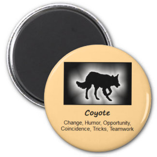 Coyote Totem Animal Spirit Meaning Magnet
