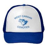 Coyotes del oeste de Canaan Gorras De Camionero