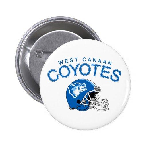 Coyotes del oeste de Canaan Pin