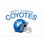 Coyotes del oeste de Canaan Postal