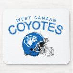 Coyotes del oeste de Canaan Alfombrillas De Ratones