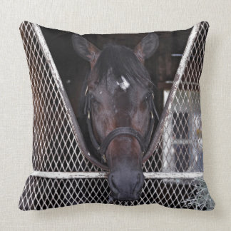 Cozmic One at Historic Saratoga Throw Pillow