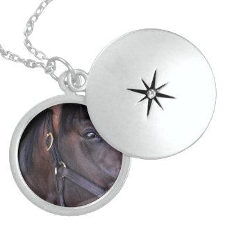 Cozmic One at Historic Saratoga Round Locket Necklace