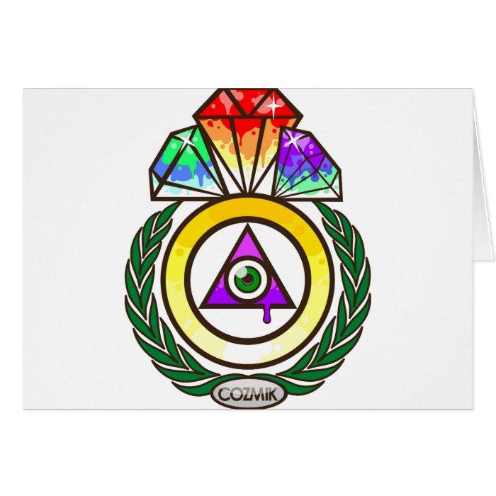 COZMIK Diamond Card