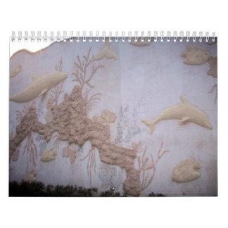 Cozumel 2011 subacuático calendarios de pared