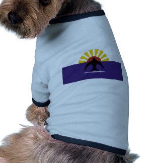 Cozumel, bandera de Quintana Roo, México, México Camisa De Perro