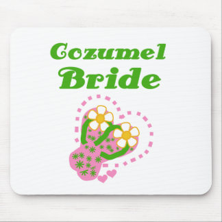 Cozumel Bride Mouse Pads
