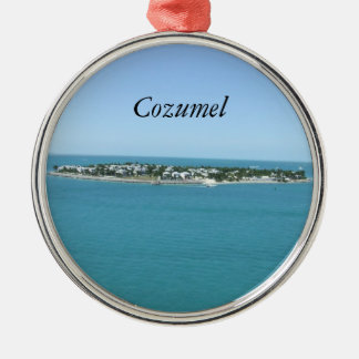 Cozumel Christmas ical Ornamement Metal Ornament