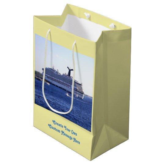 sc 1 st  Zazzle & Cozumel Cruise Ship Visit Custom Medium Gift Bag | Zazzle.com