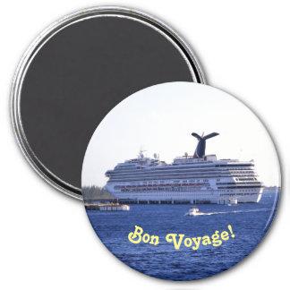 Cozumel Cruise Visitor Bon Voyage Magnet