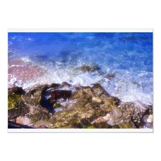 Cozumel Dock Rocks Card
