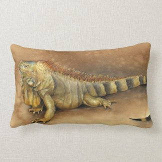 Cozumel Iguana Pillow