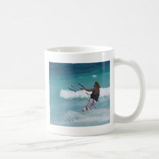 Cozumel Kiter Coffee Mug