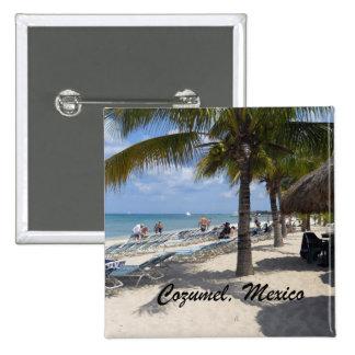 Cozumel, Mexico 2 Inch Square Button