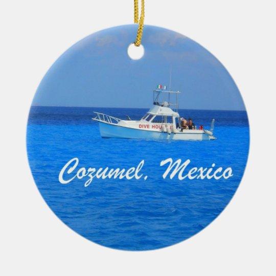Cozumel, Mexico Ceramic Ornament