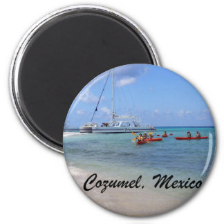 Cozumel, Mexico 2 Inch Round Magnet