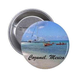 Cozumel, Mexico Pinback Button