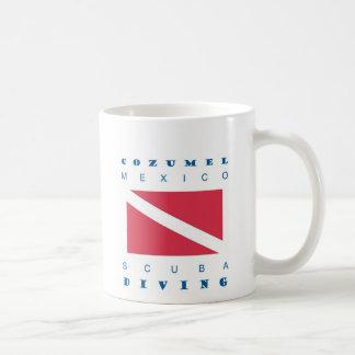 Cozumel Mexico Scuba Dive Coffee Mug