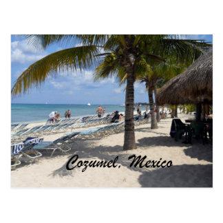 Cozumel México Tarjeta Postal