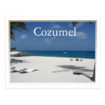 cozumel, mexico, water, postcard