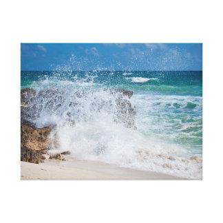 Cozumel Ocean Canvas Print