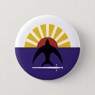 Cozumel, Quintana Roo, Mexico, Mexico flag Pinback Button