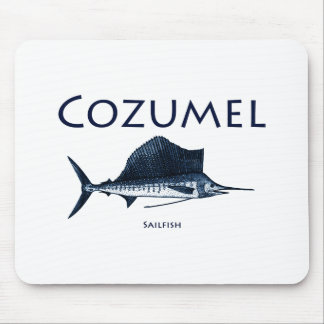 Cozumel Sailfish Mouse Pad