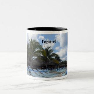 Cozumel Two-Tone Coffee Mug