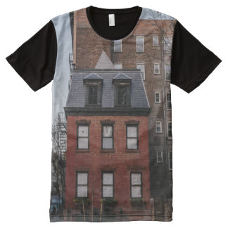 Cozy apartment in New York All-Over-Print Shirt
