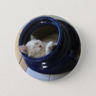 Cozy Cat Button