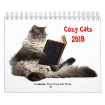 Cozy Cats calendar 2019