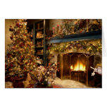 Cozy Christmas Blank Greeting Card