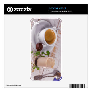 Cozy Coffee iPhone 4/4S Skin iPhone 4S Decal