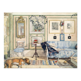 Cozy Corner by Carl Larsson Postcard