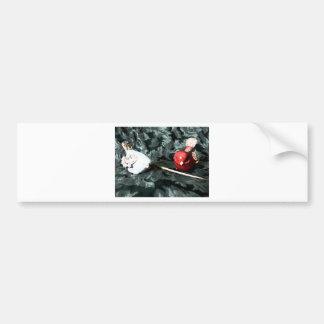 Cozy Couple Bumper Sticker