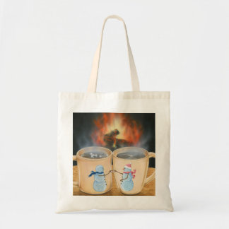 Cozy Cups Tote Bag