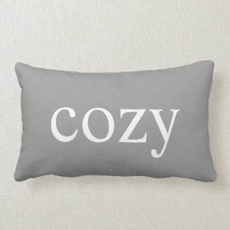 cozy decorative pillow